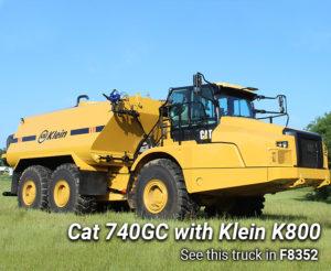 Cat 740GC