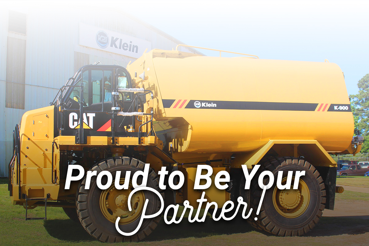Proud to be your partner